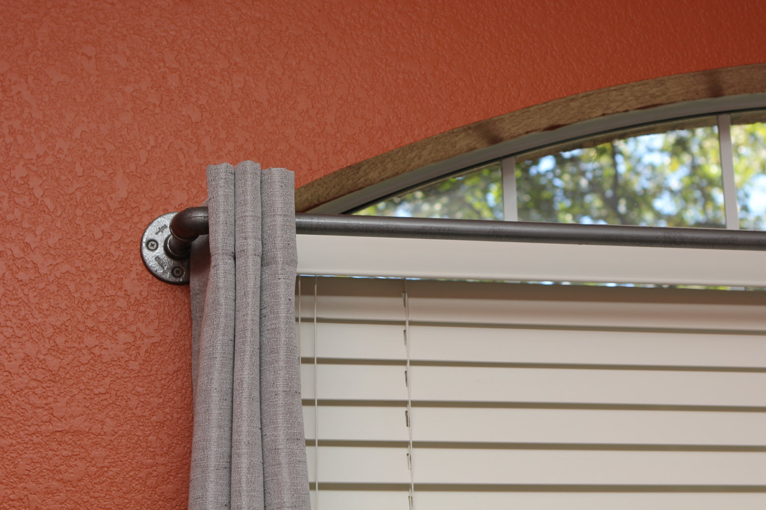 What Color Curtains Go With Gray Walls Cheap Curtain Rods