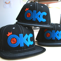 OKC Basketball Hat