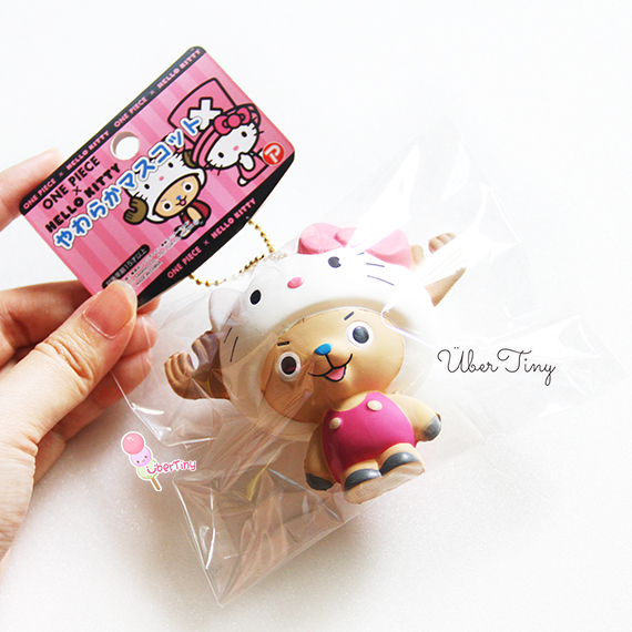 Rare* Hello Kitty x Onepiece Chopper in a HK Hat Squishy (licensed) ? Uber Tiny ? Online Store ...