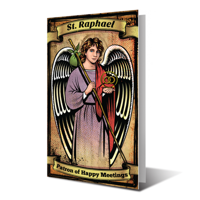 St. raphael prayer card (12ct.)