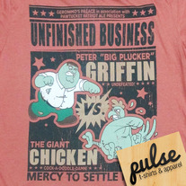 Griffin Orange Unisex T-Shirt