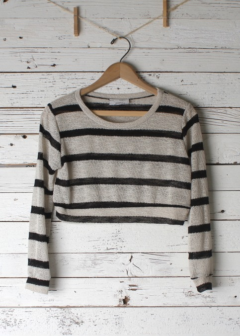Helene Crop Sweater