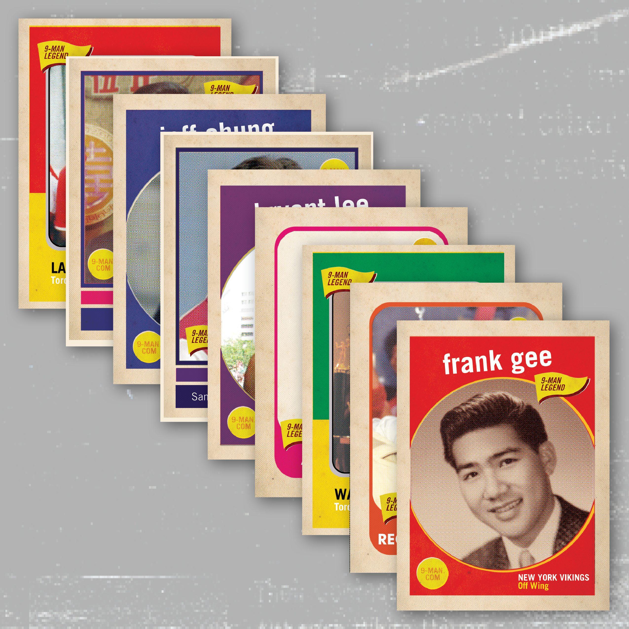 trading card design