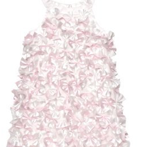 "Biscotti Charmeuse ""Fan"" Dress -Ivory, 2-6X"