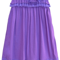 "Isobella & Chloe ""Jenny Lilac"" Sleeveless Empire Waist Dress"