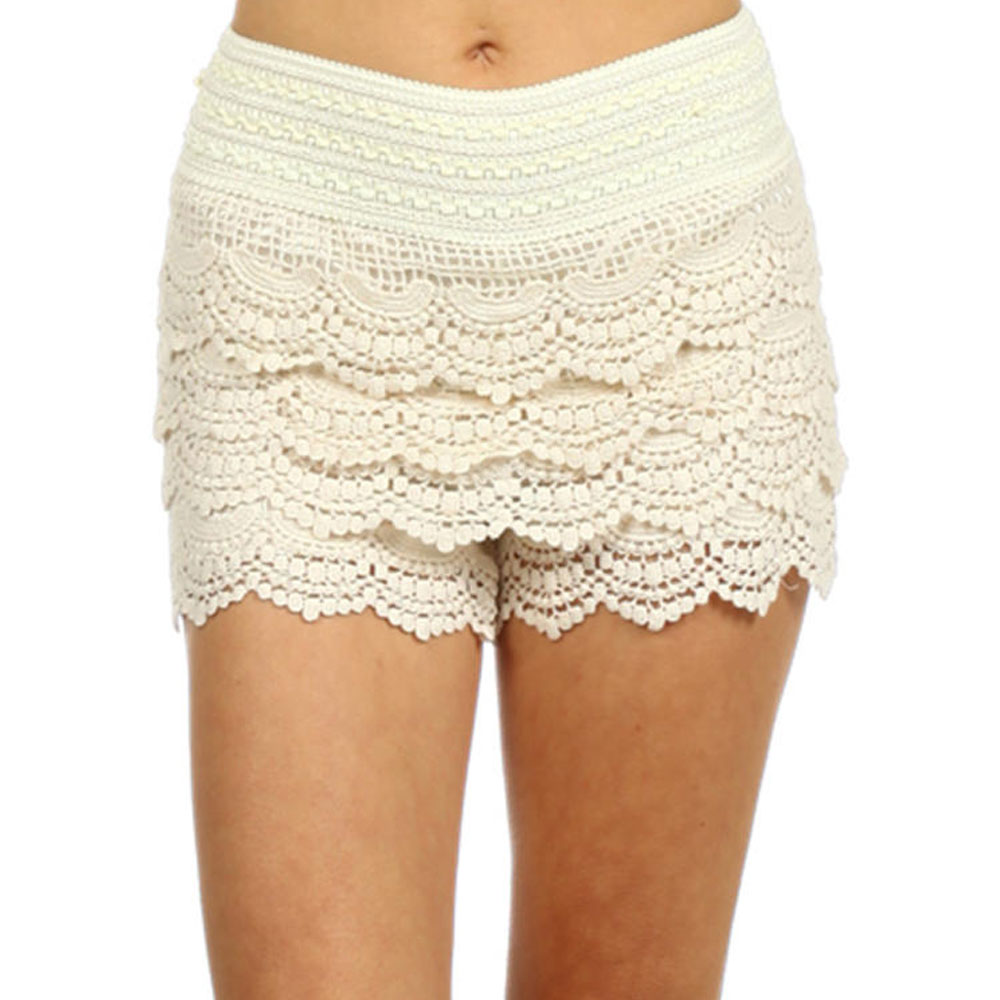 Buy Leg Avenue Women's Micromesh Lace Ruffle Tanga Shorts: Shop top fashion brands Women at techclux.gq FREE DELIVERY and Returns possible on eligible purchases/5().