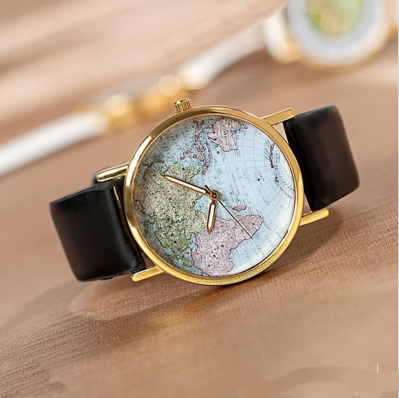 World map wrist watch mens wristwatches unisex watch women world map wrist watch mens wristwatches unisex watch women watches wat0079 gumiabroncs Choice Image