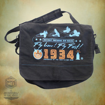 Detroit Air Race Messenger Bag