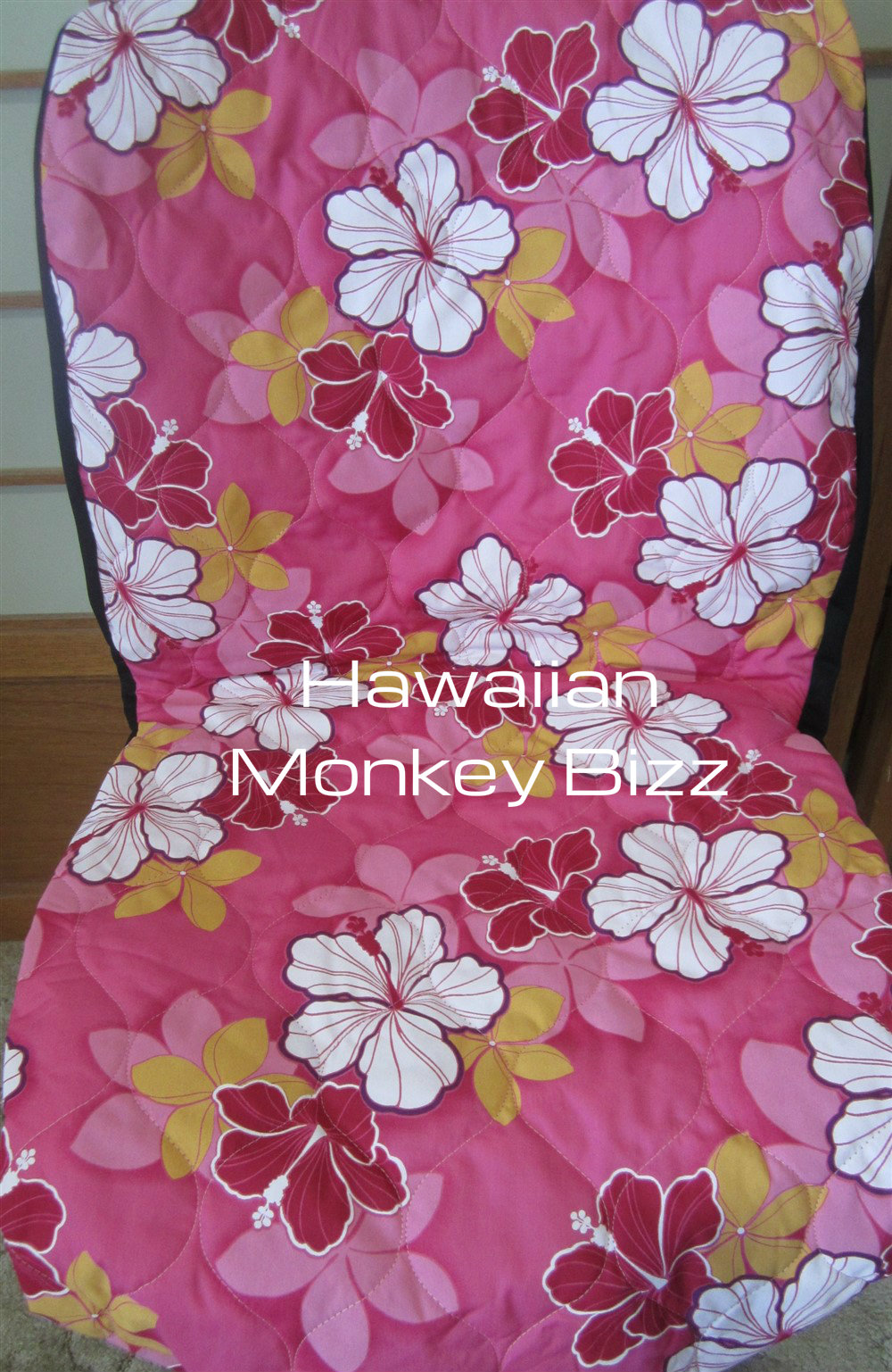 Hawaiian monkey bizz pink retro hibiscus hawaiian seat covers pink retro hibiscus hawaiian seat covers 2pc quilted thumbnail izmirmasajfo