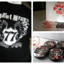 "STREET BRATS ""Bundle""(Shirt + 7"" Vinyl + Button)"