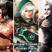 Female TripleKill.