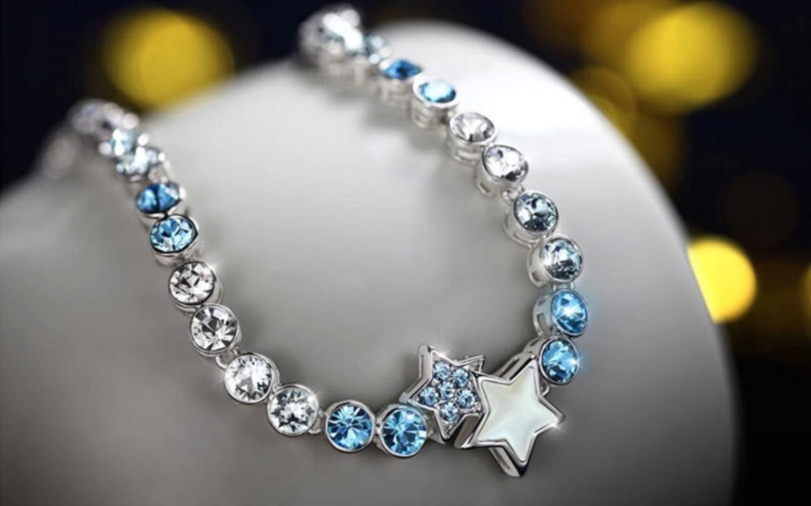 ELLANGELCOLLECTION | Little twin stars crystal bracelet♥ | Online ...