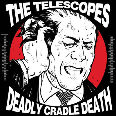 致命摇篮死 deadly cradle death / the telescopes split 7""