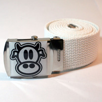 MAD COW BELT (white)