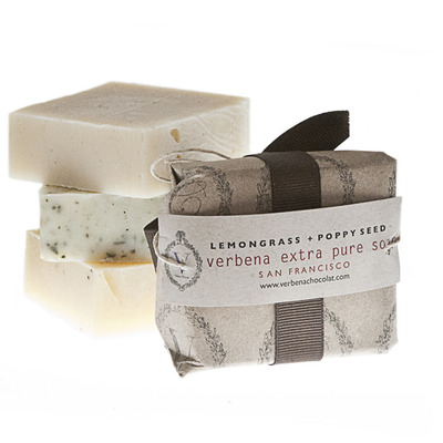 The only organic soap made in san francisco: lavender | anti aging green tea | honey oats | lemongrass + poppyseed|