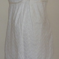 White Sleeveless Dress-Motherhood Maternity Size Medium  GS513
