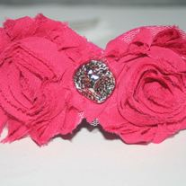 """Sweet Rose"" shabby sass headband"