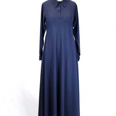 Navy zaytuna dress