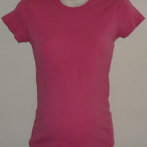 Pink Short Sleeve Shirt-Motherhood Maternity Size Medium  GS513