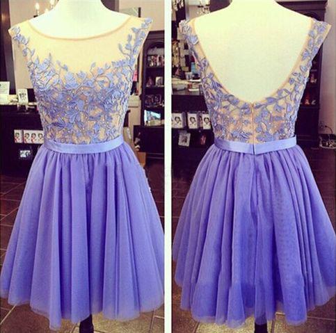 homecoming dress, purple prom dress, short prom dress, homecoming ...
