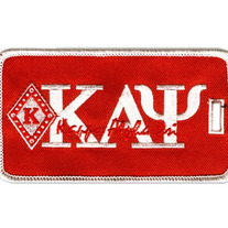Diamond K Luggage Tag