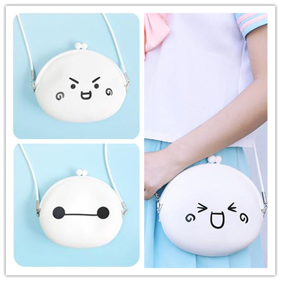 Emoji/baymax lil purse crossbody shoulder bag sp152249