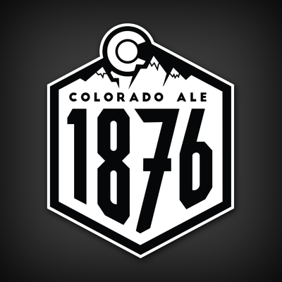1876 ale vinyl decal