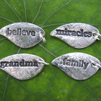 Leaf believe, miracles, grandma, family