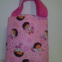 Dora the Explorer Cotton Print Tote Bag