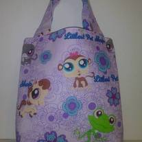 Littlest Pet Shop Cotton Print Tote Bag