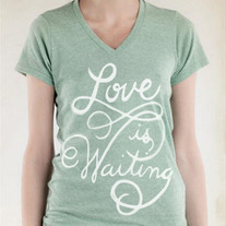 Love is Waiting V-Neck