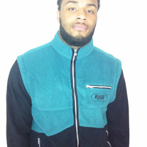 Mountain Dew Fleece Jacket w/ detatchable sleeves