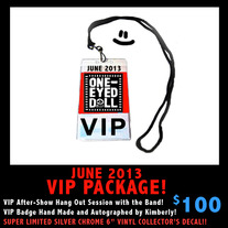 June 2013 Tour VIP Package