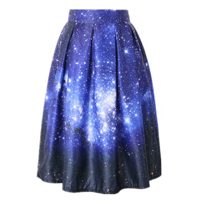 Falda galaxia/galaxy skirt wh335