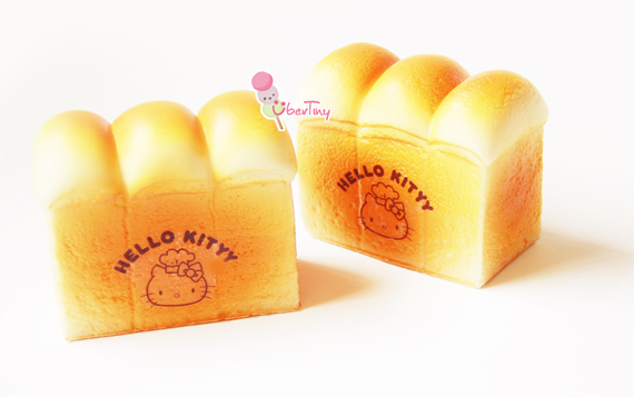 Squishy Bread : Jumbo KT Bread Loaf Squishy ? Uber Tiny ? Online Store Powered by Storenvy