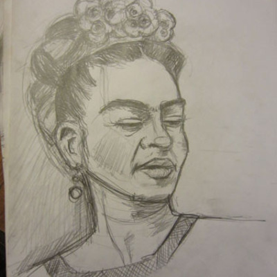 Frida kahlo drawing