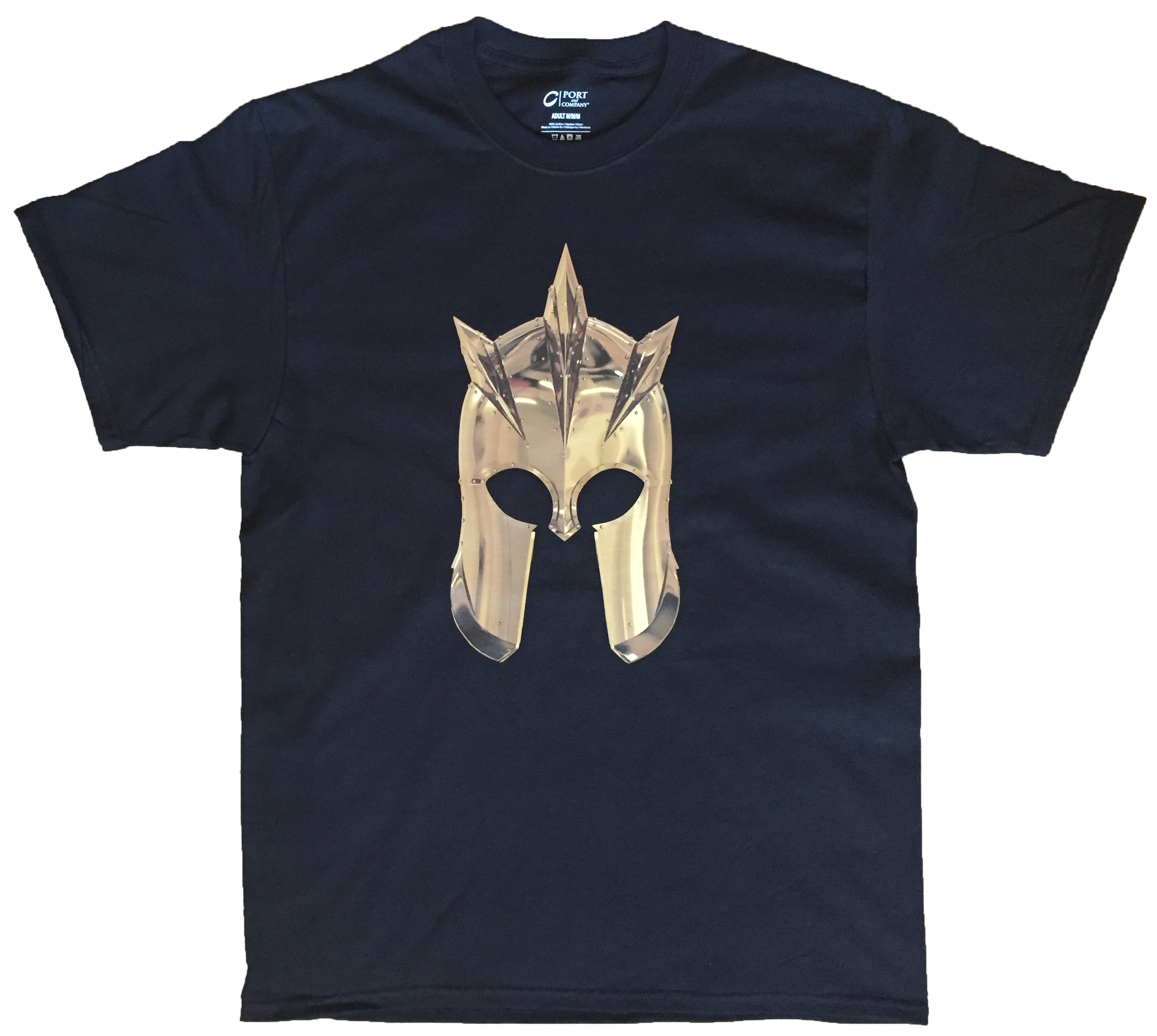 Game of thrones kingsguard gold helm t shirt top notch for Best online custom shirts