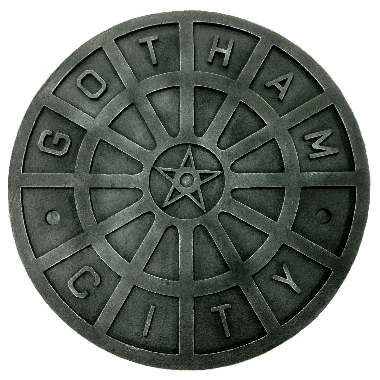 Man Cave Wall Art batman dark knight begins man hole sewer cover man cave wall art