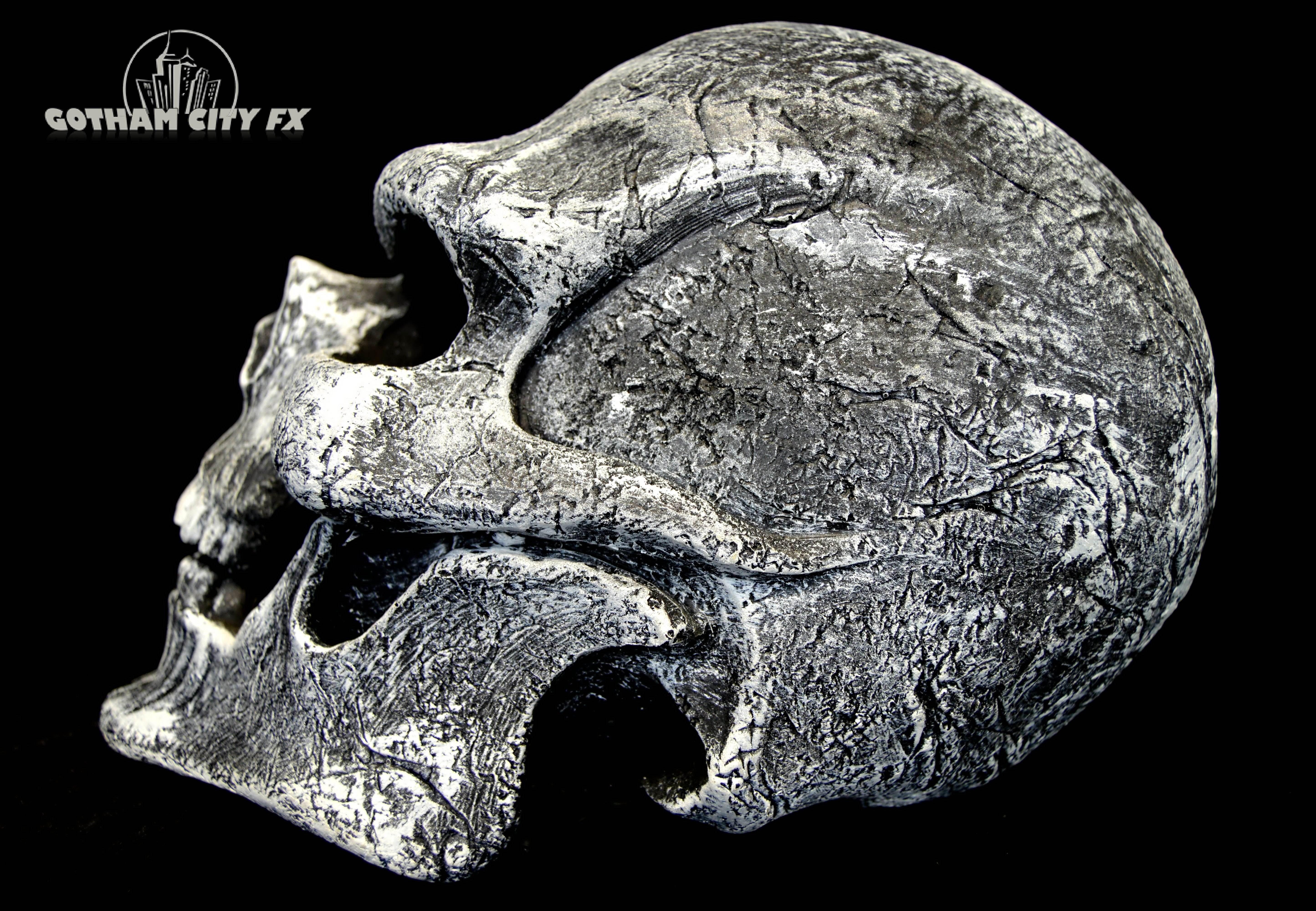 White Ghost Rider Skull Mask · Gotham City FX · Online Store ...