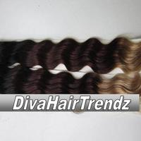"12"" 14"" 16"" & 18""  Indian Remy 3 Shade Ombre [Colors 1b/33/4] [4 Bundles] - Thumbnail 3"