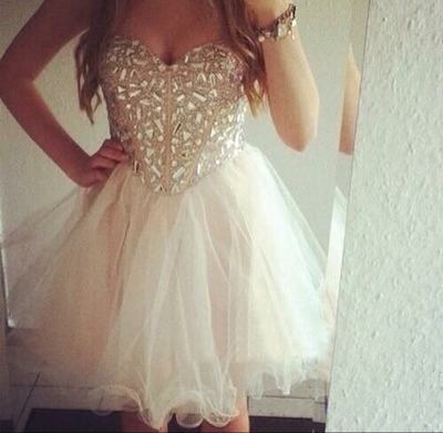 homecoming dress, short homecoming dress, white homecoming dress ...