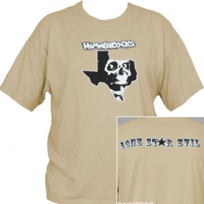Hammercocks - texas skull t-shirt