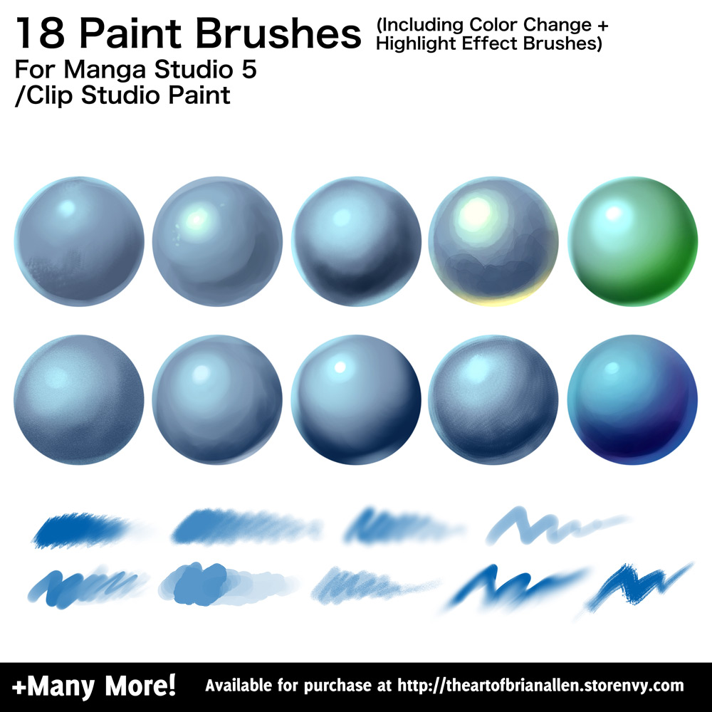 Clip Studio Paint Paint Splatter Brush
