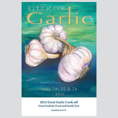 Great garlic cook-off booklet - 2015