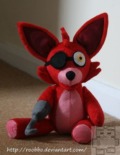 Five nights at freddy s foxy plush 183 roobbo shop 183 online store