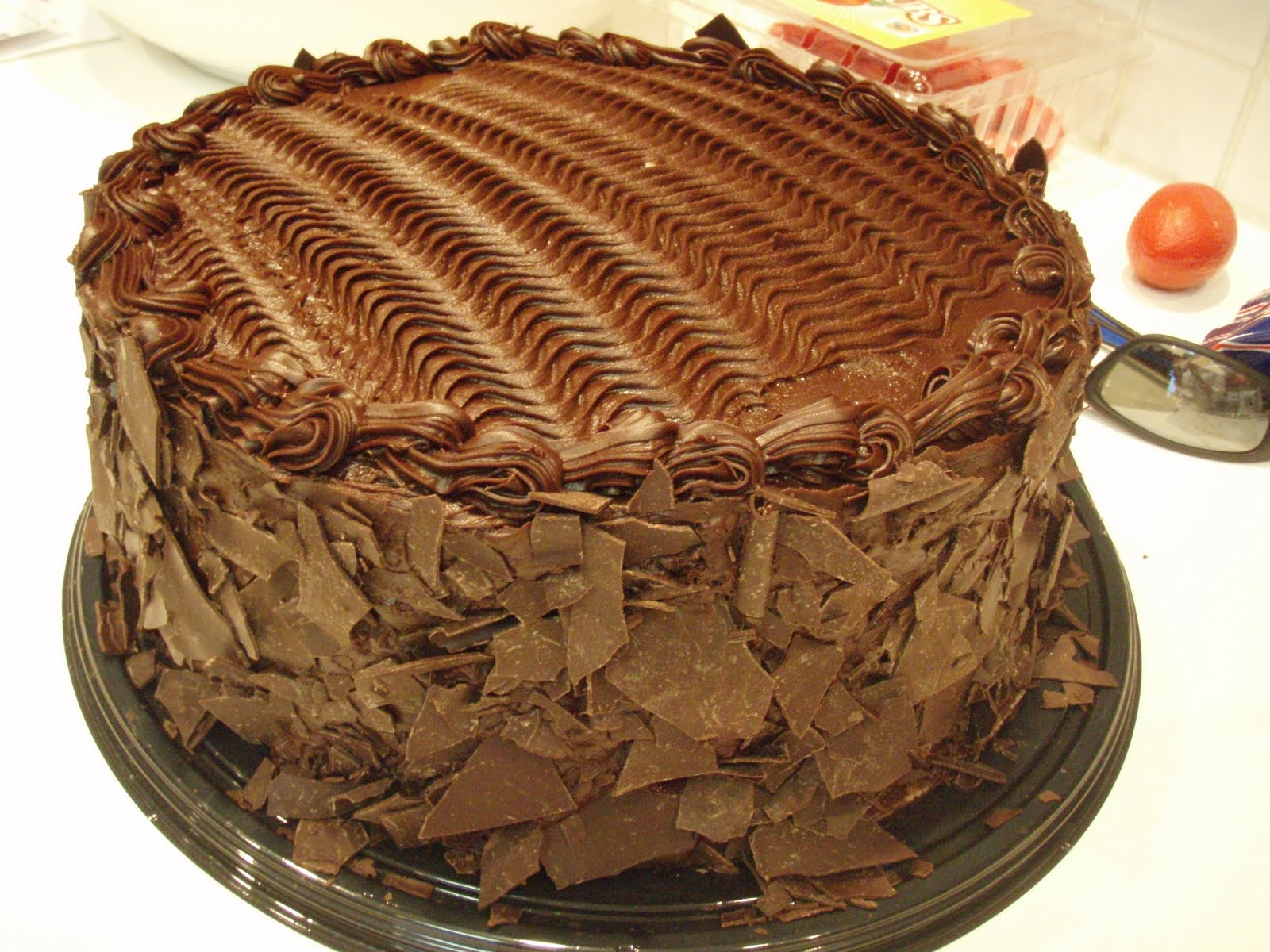 ThurGoodies | 7lb. Chocolate Cake (Free Delivery) | Daily ...