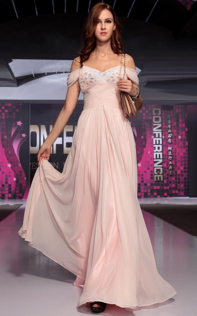 YZ Pink hot word shoulder Korean Korean bride wedding dinner ...