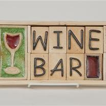 Wine Bar - Plaque