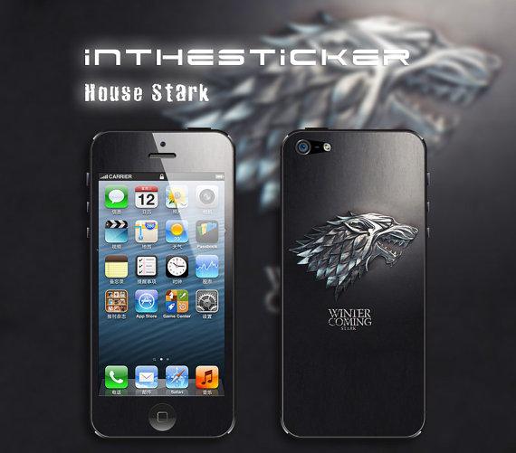 tloveskin house stark apple iphone decal iphone 4s sticker avery