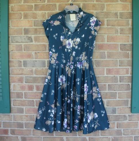 Elegance 1970's Dress.